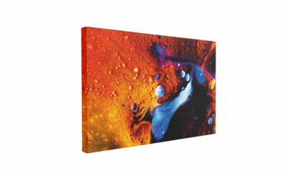 Tablou Canvas Abstract Red 60 x 90 cm,