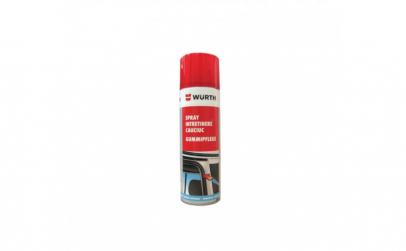 Spray intretinere cauciuc Wurth  300 ml
