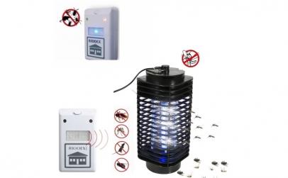 Lampa UV + aparat anti-gandaci