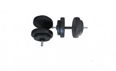 Set gantere EcoFit 15 kg