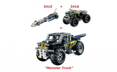 Monster Truck, 273 piese
