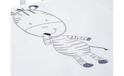 Lenjerie Patut Copii Klups Funny Zebra
