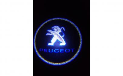 Set 2 Logo Usi Peugeot(cu baterii)