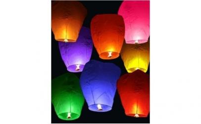 10 x Lampioane zburatoare