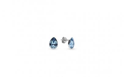 Cercei Pear Mini Aquamarine