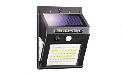 Lampa solara de perete cu 60 Led-uri