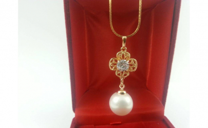 Colier Pearl Crystal