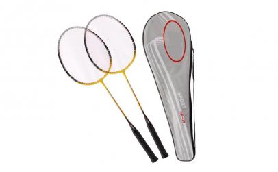 Racheta Badminton, 2buc, diverse culori