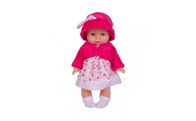 Papusa bebe alb/roz 30CM