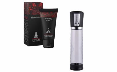 Titan Gel + Pompa electrica