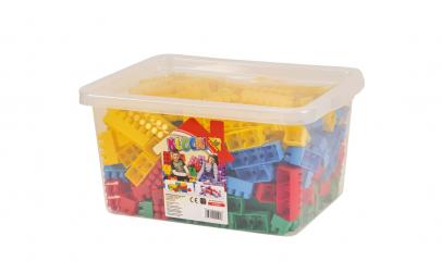 Set cuburi pentru constructii, 300 piese