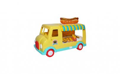 Masina cu baterii, fast food ,31x12 cm