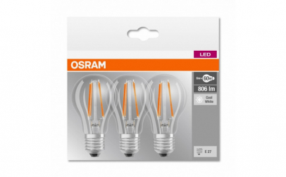 SET 3 BECURI LED OSRAM 4058075819535