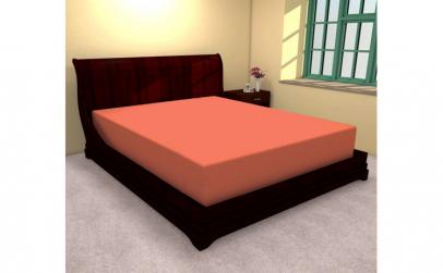 Huse de pat bumbac 100% portocaliu