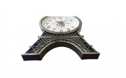 Ceas de perete, Turn Eiffel, Vintage, 80