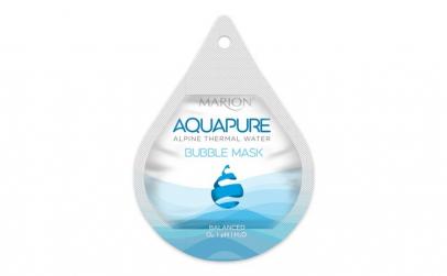 Masca de fata, Marion, Aquapure Bubble