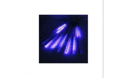Instalatie luminoasa turturi mov