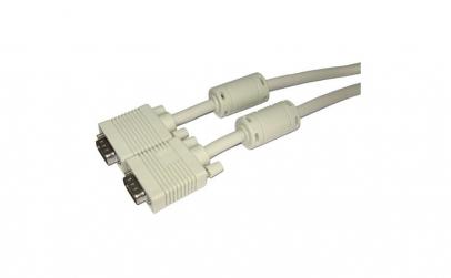 Cablu VGA, tata - tata, cu filtru -