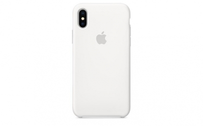 Husa Silicon Iphone X-OEM Case White