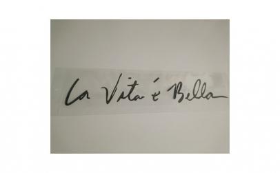 Sticker La Vitta e Bella