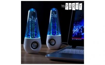 Boxe multimedia cu LED dancing water