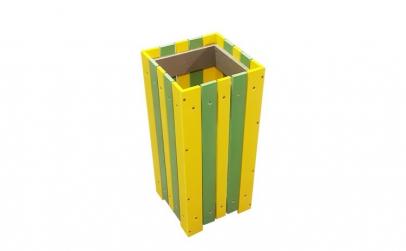 Cos pentru gunoi de exterior capacitate