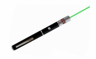 Laser colorat verde