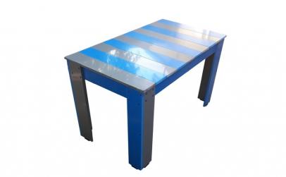 Masuta pentru gradina gri/albastra