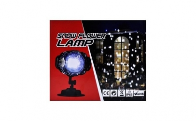 Lampa cu proiectie Snow Flower-