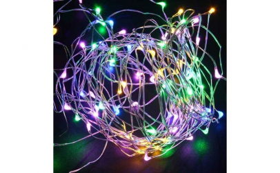 Instalație LED pe baterii cu luminite