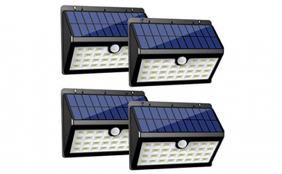Set de 4 lampi solare de perete