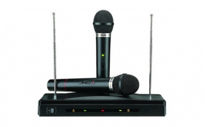 Set 2 microfoane Wireless + Receiver