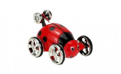 Mini performance car RC 1:28 - Ladybug