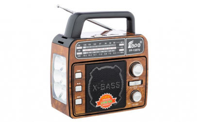 Set Radio Portabil cu Lanterna Fepe