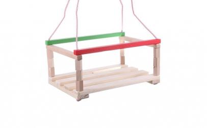 Leagan pentru copii, din lemn AC1007
