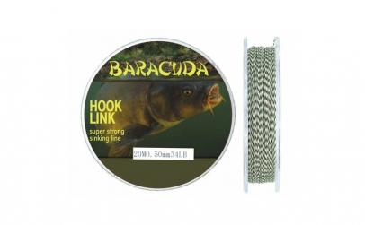 Fir textil monturi crap Baracuda Hook