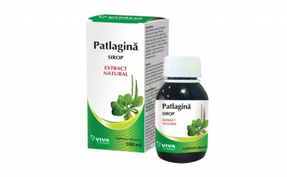 Sirop patlagină Viva Pharma, 100 ml