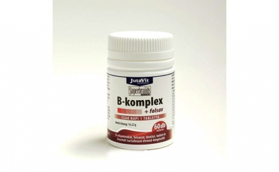 Tablete B Complex + Acid folic Jutavit,