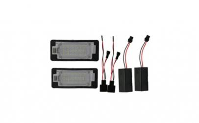 Set Lampi LED numar  AUDI A1/S1 2010-