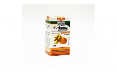 Tablete de Curcuma + Vitamina E Jutavit,