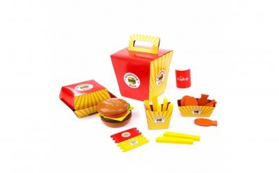 Set de joaca Fast Food Onshine lemn
