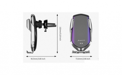 Incarcator Wireless Auto Fast Charger