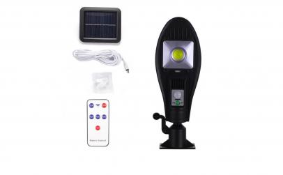 Lampa solara stradala, Panou solar Negru