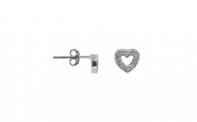 Cercei Argint 925 Inima