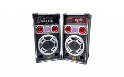Set Boxe active karaoke GLS 8 speaker