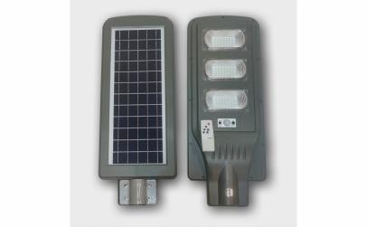 Proiector cu panou solar - 60W