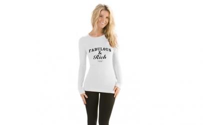 Bluza Fabulous & Rich - Alb