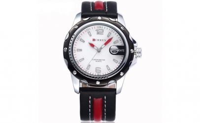 Ceas Barbatesc Curren Black Red