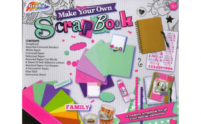 Joc creativ, album foto, Scrap Book, Gra