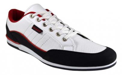 Pantofi Barbati Casual-Sport albi